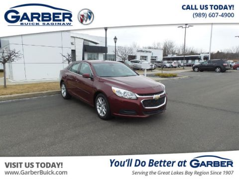 Pre-Owned 2015 Chevrolet Malibu LT w/1LT FWD Sedan