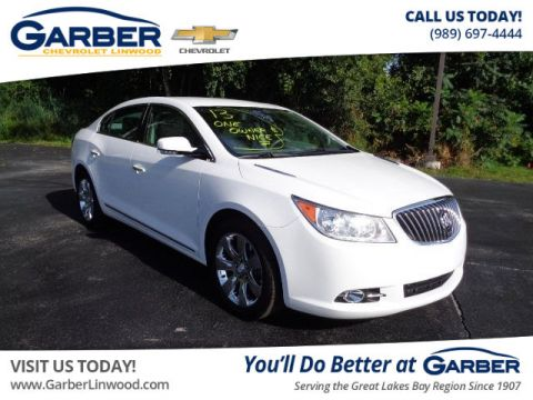 Pre-Owned 2013 Buick LaCrosse Leather Group FWD Sedan