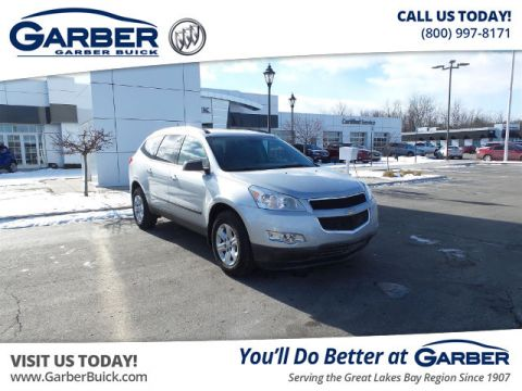 Pre-Owned 2012 Chevrolet Traverse LS FWD SUV