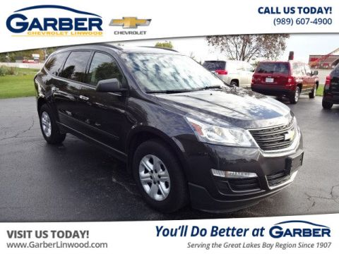 Pre-Owned 2016 Chevrolet Traverse LS AWD