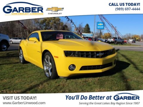 Certified Pre-Owned 2013 Chevrolet Camaro 2LT RWD Coupe