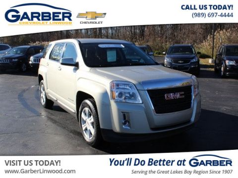 Certified Pre-Owned 2015 GMC Terrain SLE-1 FWD SUV