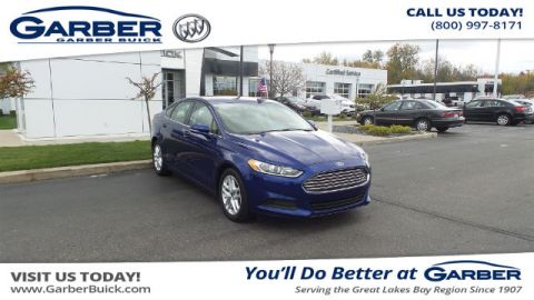 Pre-Owned 2016 Ford Fusion SE FWD Sedan